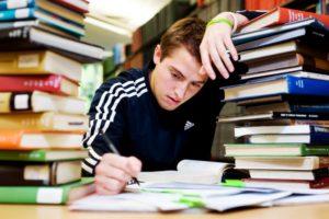Из школьника в студенты стресс